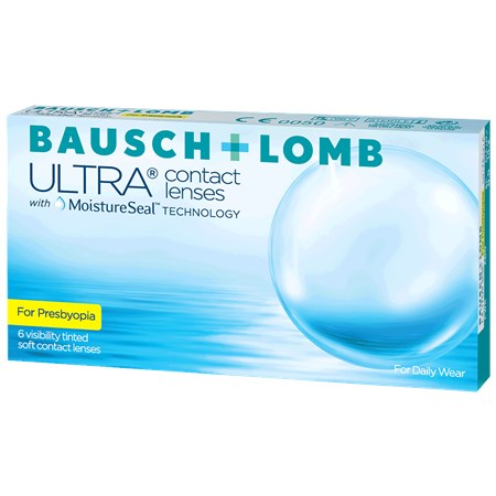 ULTRA Bausch + Lomb ULTRA for Presbyopia contacts