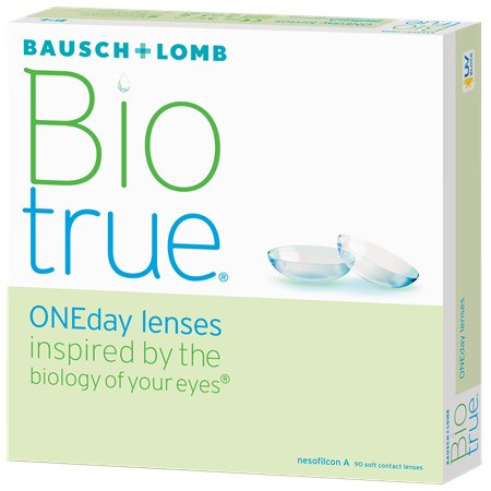Biotrue ONEday 90pk contacts