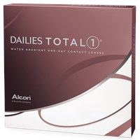 DAILIES TOTAL1 90pk contact lenses