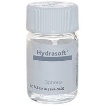 Hydrasoft sphere aphakic thin (vial) contact lenses
