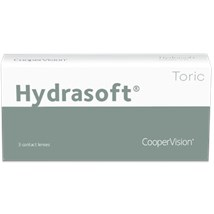 Hydrasoft toric thin (3 pack) contact lenses