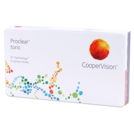 Proclear toric contacts